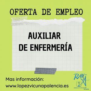 Oferta Empleo TCAE